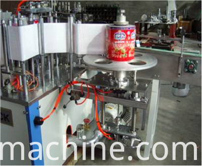 hot melt glue labeling machine4