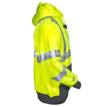 Men's Hi-Viz Yellow Job Sight Pullover Hoodie