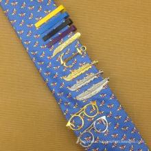 Azo Free Custom Screen Printed Silk Ties Wholesale