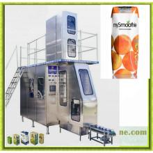 Máquina de embalagem de caixa de leite automática