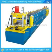 Máquina de formação de rolo de purlinina, máquina de formação de rolos de canal furring, máquina de formação de roda de quilha leve