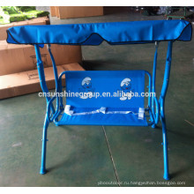 Factory direct outdoor cotton swing hanging chair cover with canopy XY-174