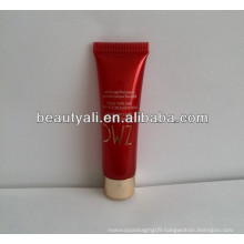 cosmetic colorful tube for packaging match with screw on cap