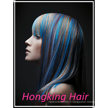 Prix de gros 100% des cheveux humains je pointe les cheveux de fusion de cheveux avec la meilleure qualité