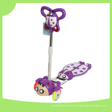 4 roues Cool Frog Swing Scooter