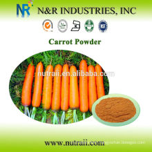 100% natural Carrot Powder 40MESH 60-200mesh