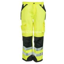 Men's Yellow  Trademark  Trouser Pants