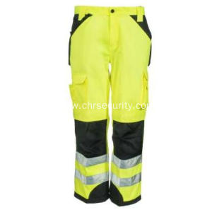 Men's Yellow  Trademark  Trouser Pants