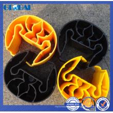 Protecteur droit en plastique de vente chaude compatible de support dexion