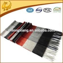 2015 nuevo patrón cepillado precio de fábrica 100% cachemira material pura bufanda de cachemira mongol