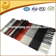 2015 New Pattern Brushed Factory Price 100% Cachemire Matériel Pure Mongolian Cashmere Scarf