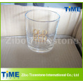 8oz Whisky Drinking Glass Tumbler con fondo redondo
