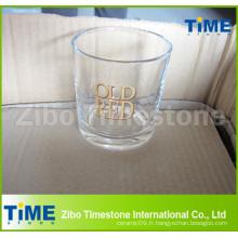 Gobelet en verre à boissons Whiskey de 8 oz avec fond rond