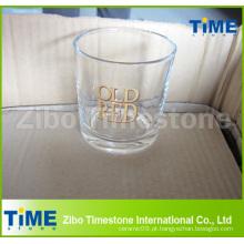 8oz Copo de vidro para beber Whisky com fundo redondo