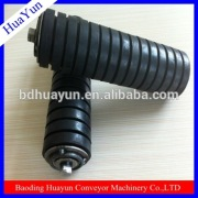 Standard Coalmine used rubber coating conveyor roller for conveyor systerm in baoding near beijing