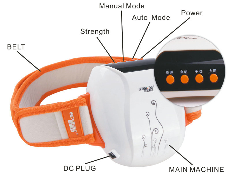 Vibrating Belt Massager ZK01