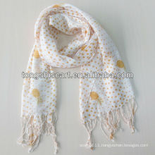 2013 fashion cheap macrame scarf