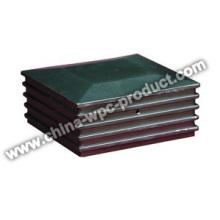 Aluminium WPC Cap