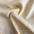 Elegante reine Farbe 100% Viskose Jacquard Kleider Stoff