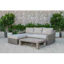 ALAND COLLECTION - Neues Design PE Wicker Rattan Outdoor Möbel Sofa L Form