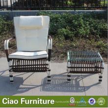 Chaise en rotin extérieur Garden Chiars