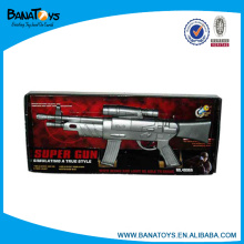 Electrical laser toy gun with flash and sound