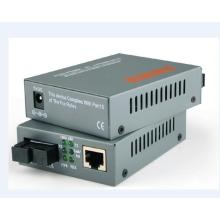 Cat6 Fiber To Multimode Ethernet Converter Switch