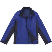 Повседневная куртка с длинным рукавом на молнии для мужчин