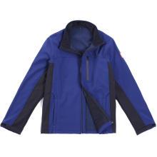 Casual mangas compridas com zíper Softshell Jacket for Men