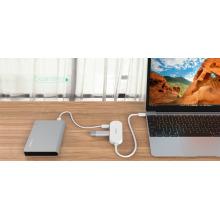 Hub ORICO 4 portas USB3.1 Tipo-C (HC1)
