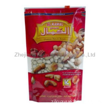 High quality doypack standing pouch for snack