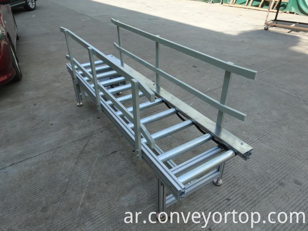 Chain Drive Roller Conveyors