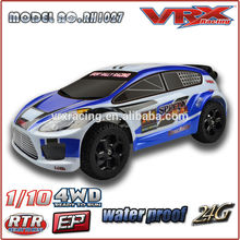 1/10 rc toy car, rc car kit, high speed brushes rally rc car