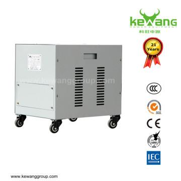 Transformateur d'isolement de transformateur LV refroidi par air série série haute précision 80kVA