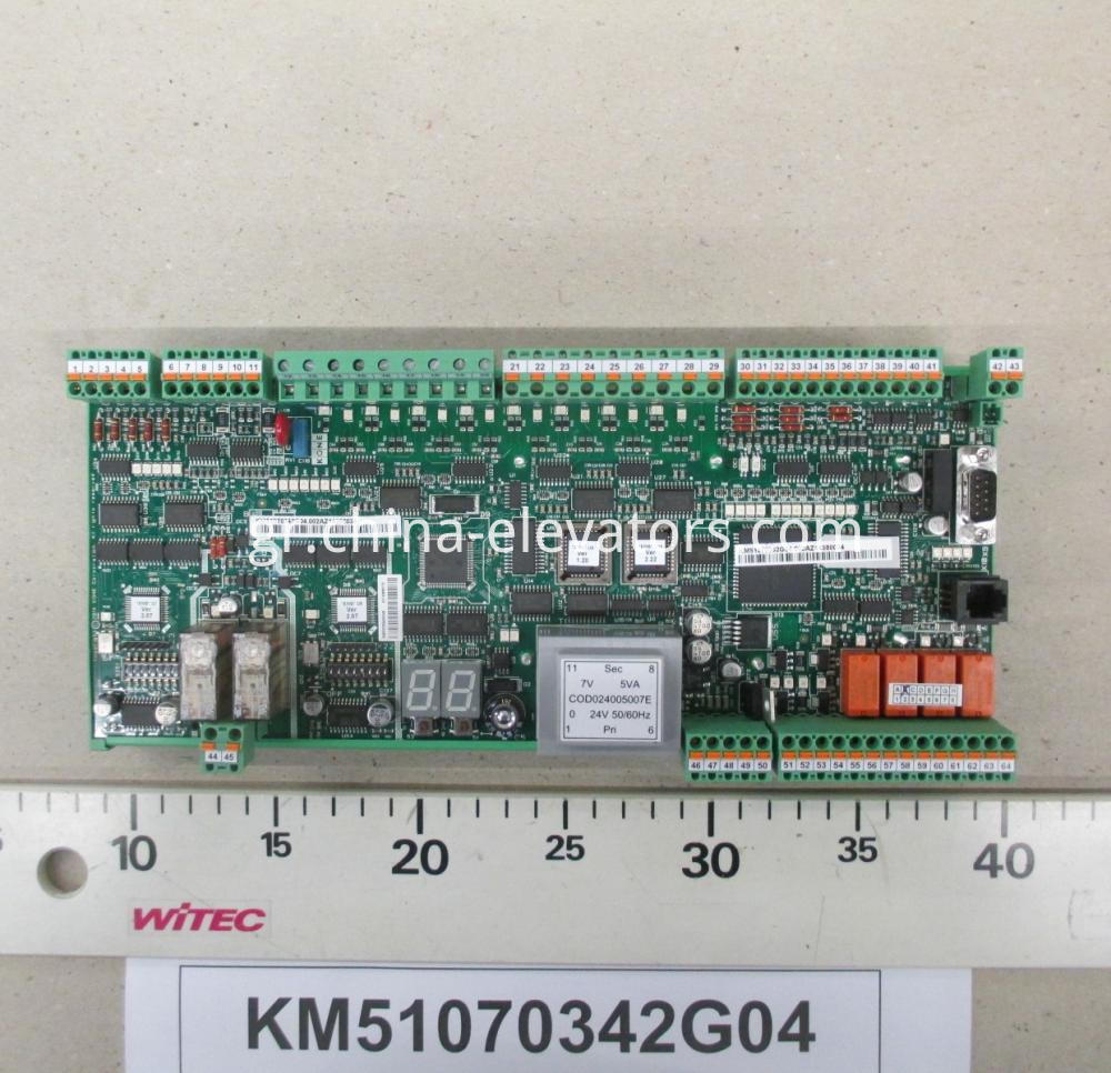 KM51070342G04 KONE REDESIGN EMB501 for EJV1.4 AND RJV1.2