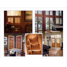 Preço barato e Custom Made persianas dentro obturadores da janela