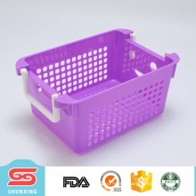 multipurpose sieve plastic kitchen vegetable storage baskets for use