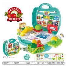 Boutique Spielhaus Plastikspielzeug für Bio-Lebensmittel-Gemüse