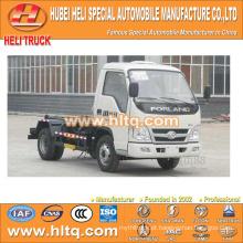 4X2 FOTON FORLAND marca 4.5m3 98hp hosit braço refugo caminhão preço de choque produção profissional venda quente