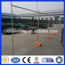 Anping deming оцинкованный временный забор для продажи