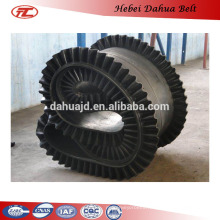 DHT-186 low price used sidewall conveyor belts rubber belts for sale