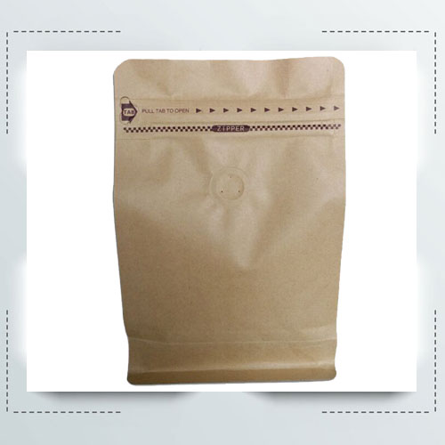 Eight Sides Food Packaging Bag