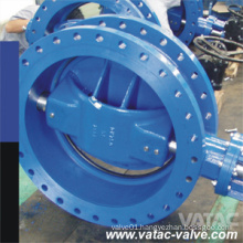 Flg RF/Rtj Triple Eccentric Butterfly Valve with Pneumatic Operator