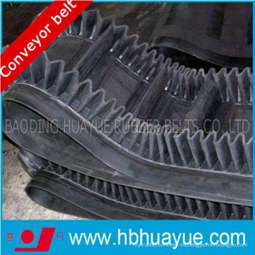 Cinturón de goma de alta resistencia Ep / Nn flanco