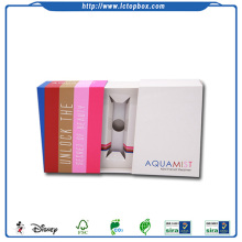 Printed paper box for mini facial steamer