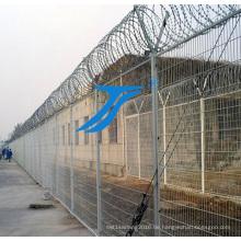 Gefängniszaun, Sicherheitszaun, schützender Zaun
