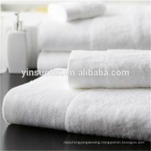 five star hotel pure white china tea towel