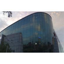 Hochwertige Stahlkonstruktion Gebäude Glaswände