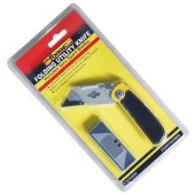 Herramientas de mano Kinfe Utility plegable cerradura 5 repuesto cuchillas corte