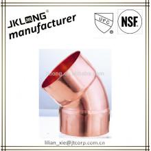 Conexão de tubos de cobre 45 cotovelo C x C UPC NSF